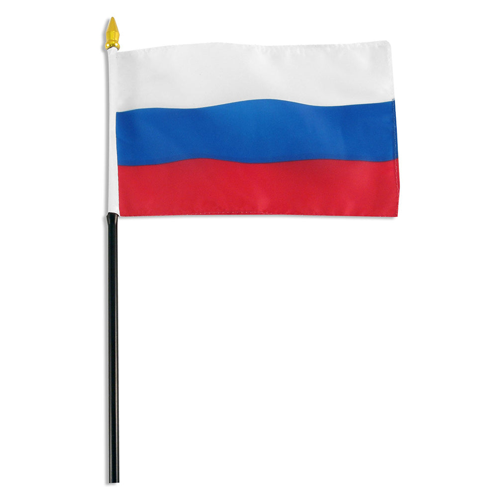 12 Pack of 4x6 Inch Russia Flag (12 Pack)