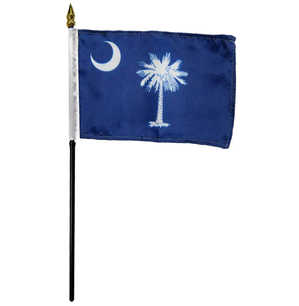 12 pack of 4x6 Inch South Carolina Flag (12 Pack)