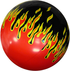 "16"" Hot Rod Flames Inflatable Beach Ball"