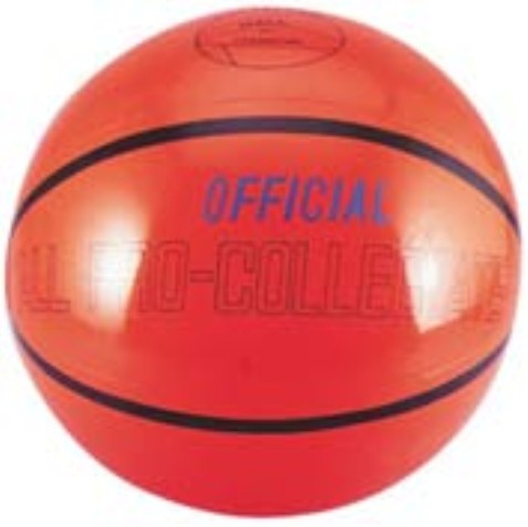 "16"" Inflatable Basketball"