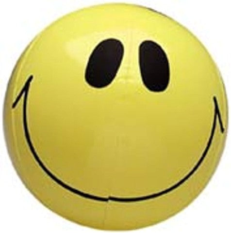"16"" Inflatable Smiley Face"