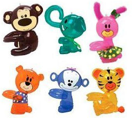 "18"" Inflatable Hug Me Animals"