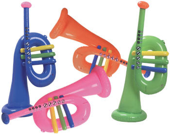 "28"" Inflatable Trumpet"