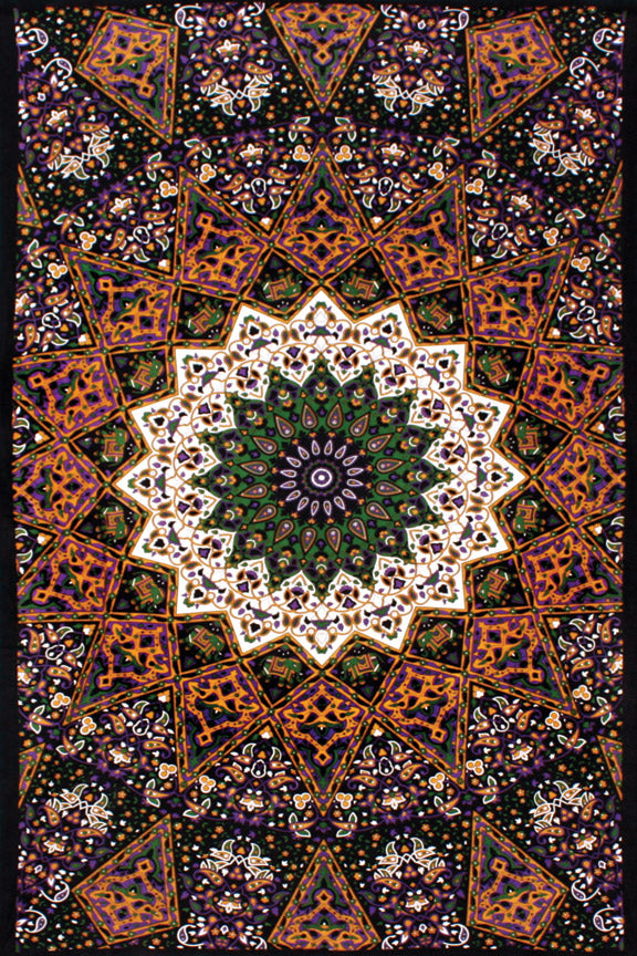 3D Indian Star Tapestry 60 x 90