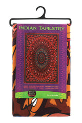 3D Wandering Bear Indian Tapestry 60 x 90""