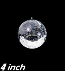 "4"" Mirror Disco Ball"