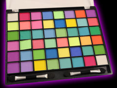 48 Colors Of Neon Blacklight Reactive Eye Shadow