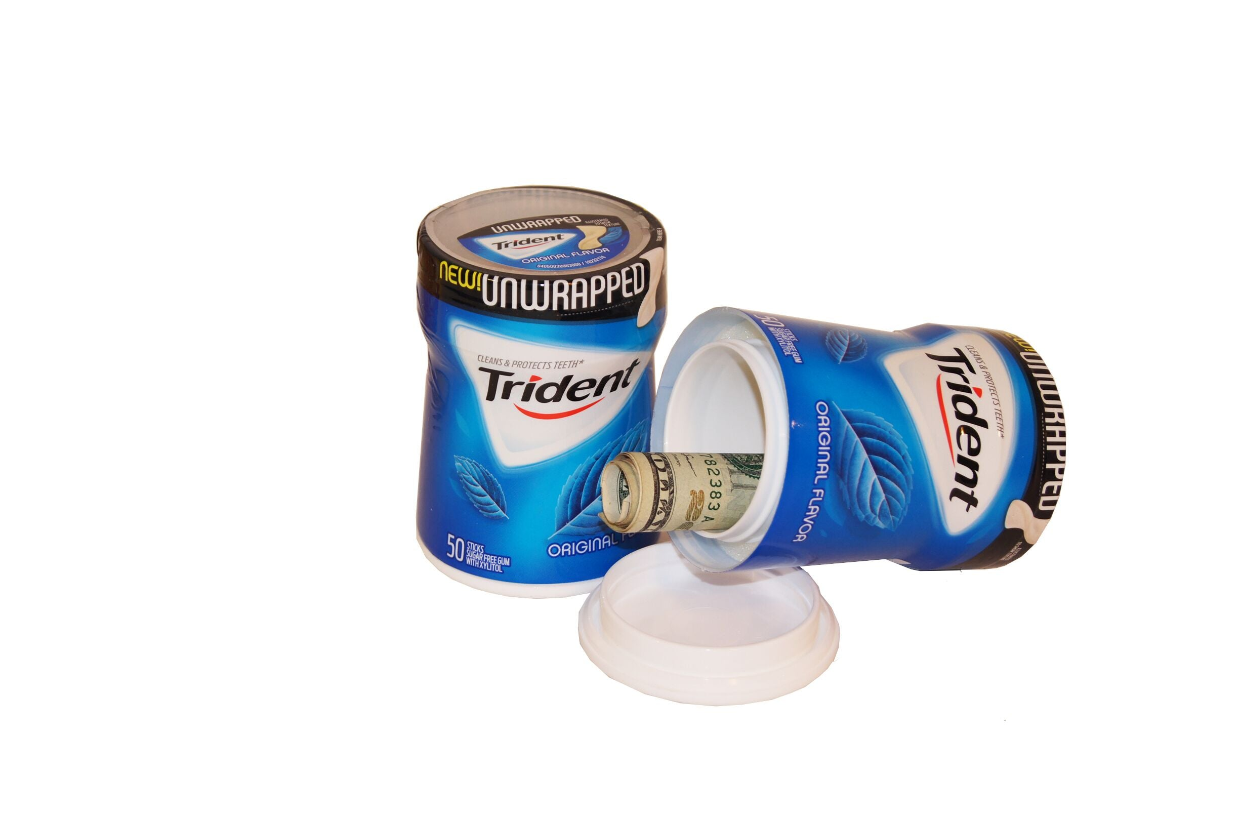 Trident Gum Diversion Safe
