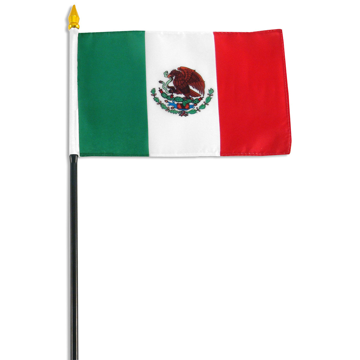 4x6 Inch Mexican Flag