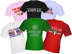 6 Assorted Womens T-Shirts - Girls T-Shirt Clearance Megapack Only $2 a Shirt