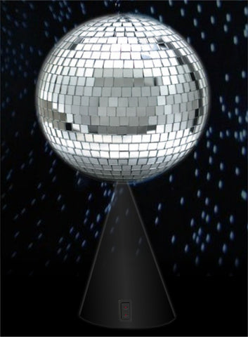6'' Mirror Ball On Rotating Stand