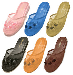 6 Pair of  Mesh Chinese  Slippers