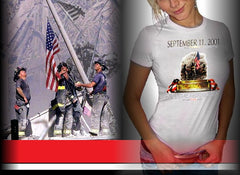 9/11 Never Forget Memorial Girls T-Shirt