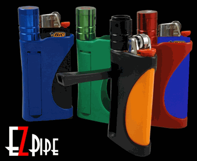 EZ Pipe - EZpipe All in One Smokeless Easy Pipe Lighter Holder