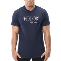 hodor quote mens t-shirt
