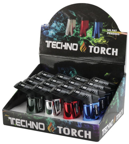"Tecnho 3"" Metallic Torch Lighter"