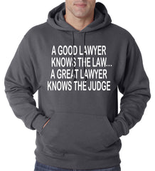 A Good Lawyer Hoodie