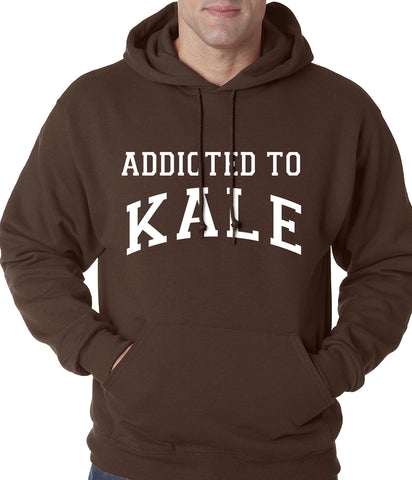 Addicted to Kale Adult Hoodie