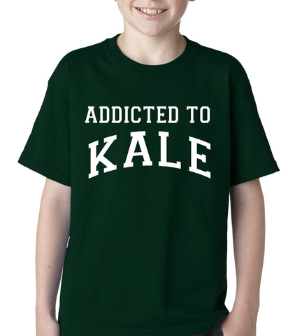 Addicted to Kale Kids T-shirt Black