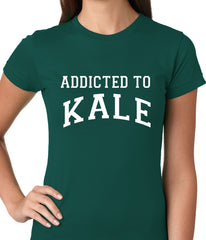 Addicted to Kale Ladies T-shirt