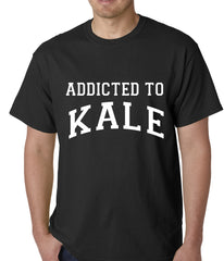 Addicted to Kale Mens T-shirt