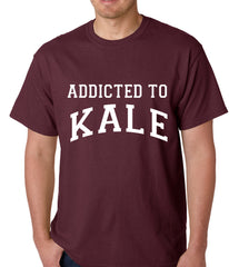 Addicted to Kale Mens T-shirt Maroon