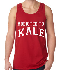 Addicted to Kale Tank Top Red