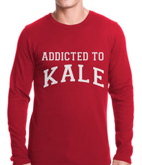 Addicted to Kale Thermal Shirt