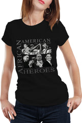 African American Hero Icons Girls T-shirt