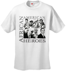African American Hero Icons Mens T-shirt White