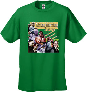 African American Heroes and Record Breakers Men's T-Shirt
