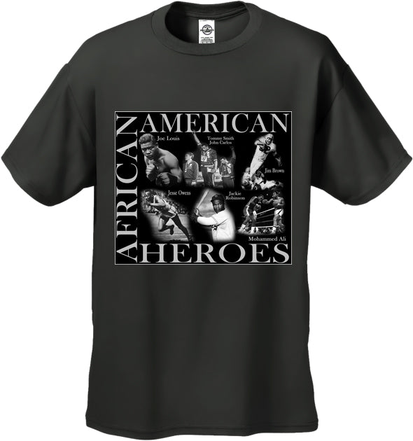 African American Sports Heroes Men's T-Shirt