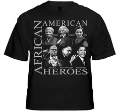 African American Visionary Heroes T-Shirt