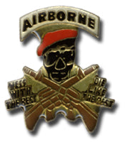 Airbourne Mess With The Best... Lapel Pin