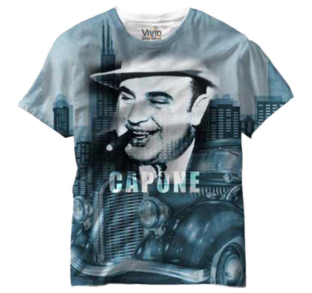 Al Capone All Over Sublimation Print