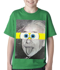 Albert Sponge-stein Kids T-shirt Kelly Green