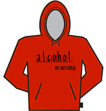 Alcohol Anti-Drug Hoodie