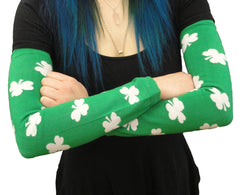 All Over Shamrocks Arm Warmers