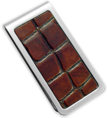 Alligator  Pattern Money Clip