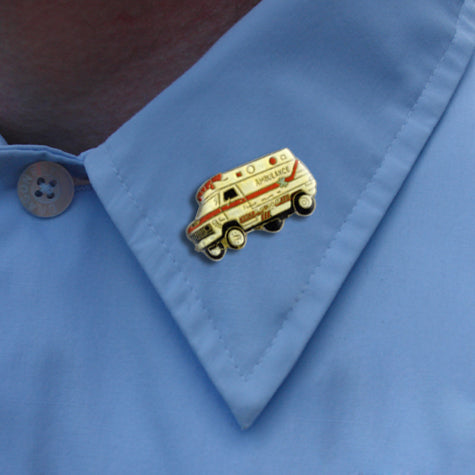 Ambulance Lapel Pin