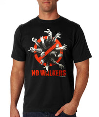 AMC The Walking Dead - NO WALKERS Men's T-Shirt
