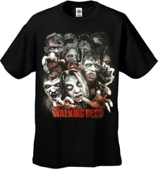 AMC The Walking Dead - Zombie Infestation Men's T-Shirt