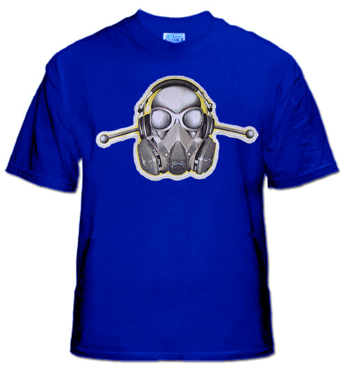 Anti Anthrax Gas Mask Shirt