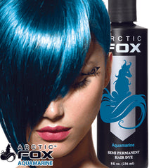 Arctic Fox Semi Permanent Hair Dye - 8 Ounce Aqua Marine #1