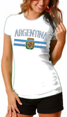 Argentina Vintage Flag International Girls T-Shirt
