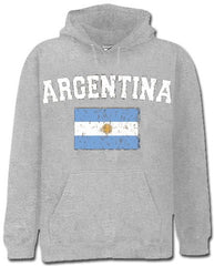 Argentina Vintage Flag International Hoodie