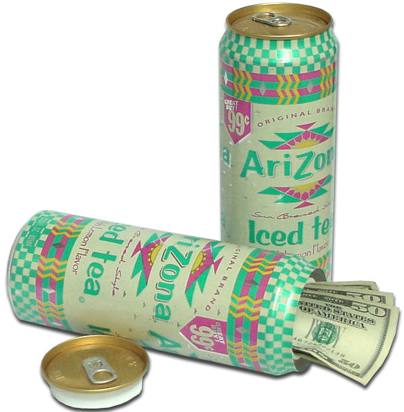 arizona iced tea diversion can safe bewild