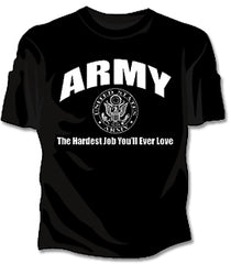 Army The Hardest Job Girls T-Shirt