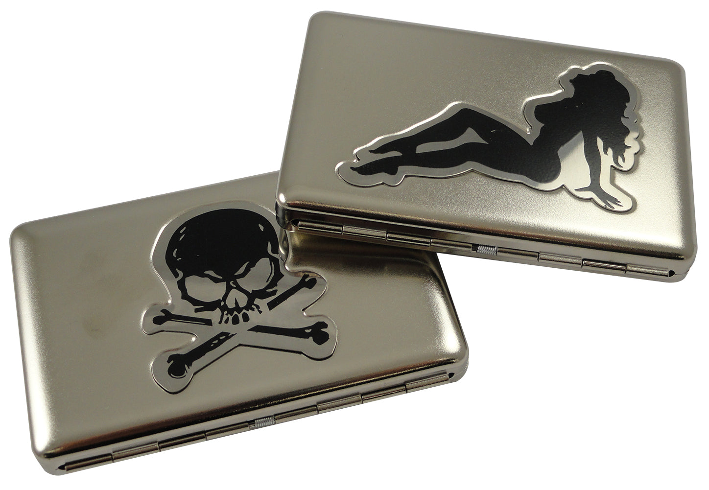 Assorted Belt Buckle Cigarette Case With FREE Leather Belt