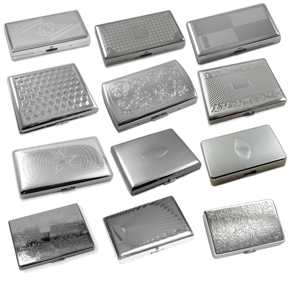 Assorted Cigarette Cases (Set of 12 for Regular Size & 100's) Only $5 each!